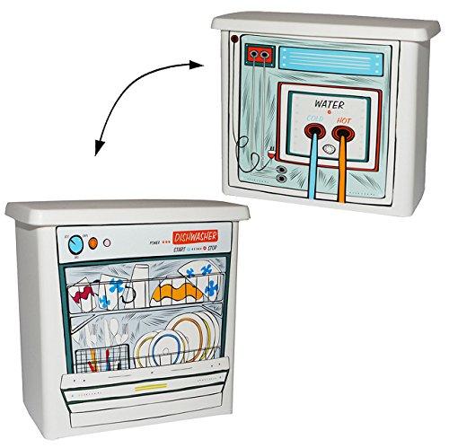 alles-meine.de GmbH Vorratsdose / Aufbewahrungsbox -  Waschmittel  - für Waschmaschine & Geschirrspüler - 2,3 l - aus Kunststoff / Waschpulverbox - Waschmittelbehälter - Dose -..