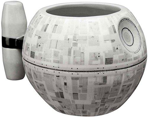 Zak Designs Classic Star Wars Sculpted Coffee Mug - Death Star