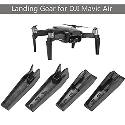 Flycoo Landing Gear for DJI Mavic Air Drone Quadcopter Helicopter Leg Extension 3.5cm Heigtened Protection Support Bracket Feet Accessories