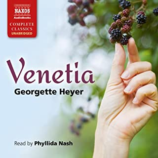 Venetia audiobook cover art