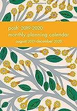 Posh: Trumpet Vines 2019-2020 Monthly Pocket Planning Calendar