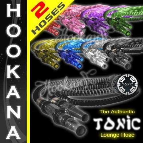 2 Tonic Max 87% OFF Hookah Super-cheap Shisha Washable - Colors Hoses Any