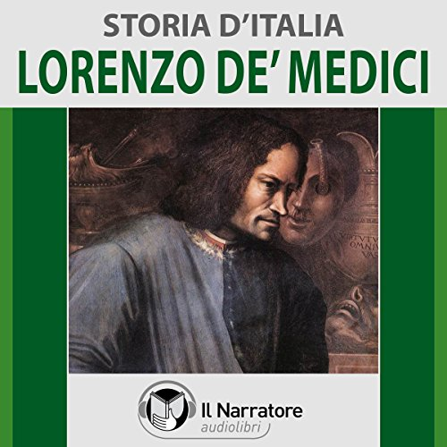 Lorenzo de' Medici audiobook cover art