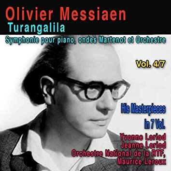 Olivier Messiaen, Vol. 4/7: Turangalila, Symphonie pour piano, ondes Martenot et orchestre (1948)