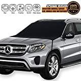 [2020 Newest] Windshield Snow Cover, Extra Large & 600D Thicker Fits Any Car Truck SUV Van...