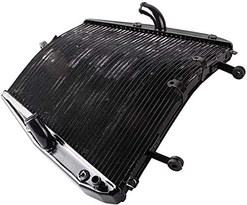 popular Mallofusa Motorcycle Aluminum outlet online sale Radiator Cooling Cooler Compatible for Honda CBR1000RR 2012 outlet online sale 2013 2014 Black online sale