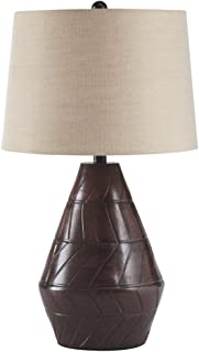 Signature Design by Ashley L100634 Nelina Terracotta Table Lamp (1/CN), Reddish Brown