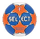 SELECT Ultimate - Baln de Balonmano Azul Blau/Orange/Wei Talla:3