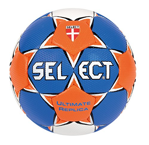 SELECT Ultimate - Balón Balonmano Azul Blau/Orange/Weiß
