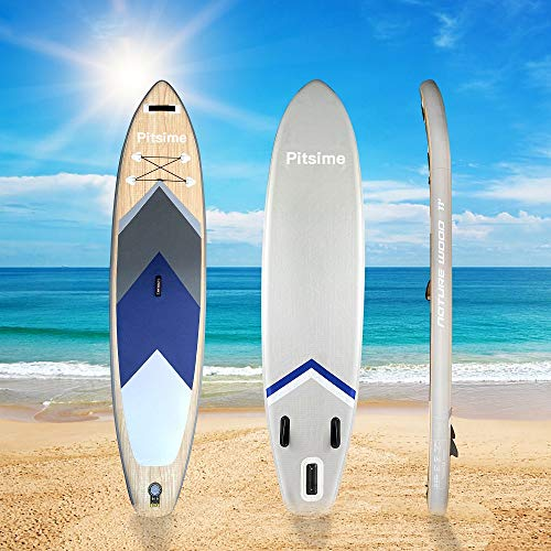 Pitsime Board Stand Up Paddle Board Multifunctional Yoga Fishing Surfboard with Accessories