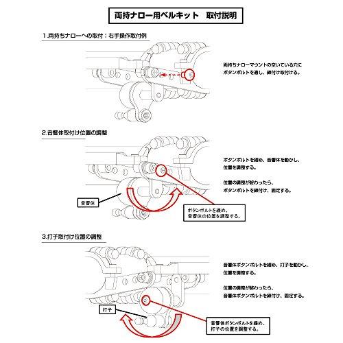 REC-MOUNTS(レックマウント)『両持ちナロー用ベルキット』
