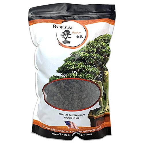 Lava Rock, Soil Aggregate for Bonsai, Cactus, Succulents, and Other Container Grown Plants, enables Optimal Drainage, Improves Soil Aeration 1/4 inch Black Lava Rock (2 Quarts Bag)