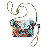 KAVU Renrose Crossbody Wallet with Rope Strap - Fall Bouquet