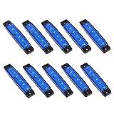 Eaarliyam Éclairage intérieur de Bateau LED Navigation Strip Bar Lumière Lampe Intérieure Lampe Achetée pour Camion de Bateau de Voiture 10pcs 12V Bleu