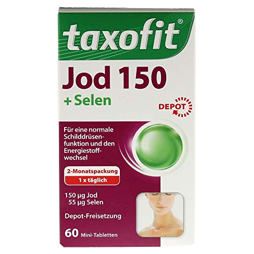 Taxofit Jod Depot Tabletten 60 St
