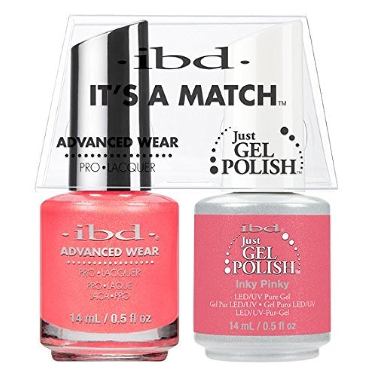 艶カロリーマウントibd - It's A Match -Duo Pack- Inky Pinky - 14 mL / 0.5 oz Each