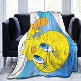 YEGFTSN Twe-ety Bird Ultra-Soft Warm Micro Fleece Throw Blanket Sherpa Plush Fleece Wearable Throw Blankets for Bed Couch Living Room 50'x40'