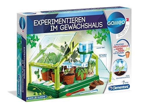 Clementoni 59081 Galileo Gewaechshaus Experimentier-Set