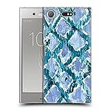 Head Case Designs sous Licence Officielle Haley Bush Diamant Bleu Peinture Modèle Coque en Gel Doux...
