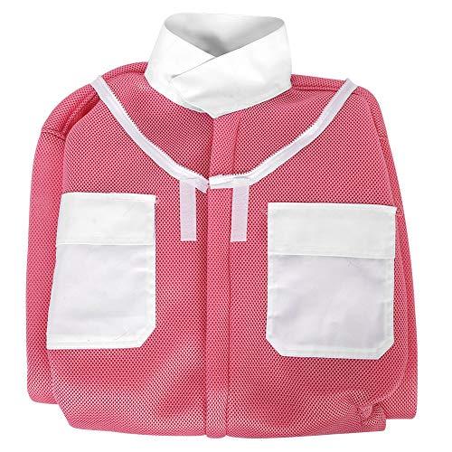 Mumusuki beschermend pak voor bijen, roze, kostuum, sluier, bij, pak, imker, blouse, overall