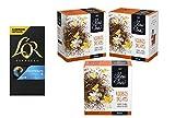 L'OR Espresso Decaffeinato + Pickwick Slow Tea Rooibos Dreams Bundle -10 cápsulas de café de aluminio compatibles con Nespresso (R) + 75 bolsitas de té