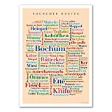 Poster Bochumer Wörter (30x40 cm)