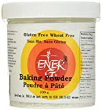 Aluminum-Free Baking Powder Substitute by Ener-G | Gluten Free, Vegan, Nut Free, Non-GMO, Kosher | 7.05 oz Package