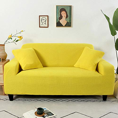 Allenger Non-Slip Stretch Sofa Throws,Knitted Thicken for Living Room Slipcovers L Shape Armchair Protector-2_235-300cm