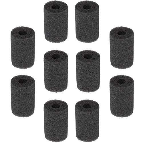 NO 10 Pcs Filtro de Esponja Esponja de Filtro de admisión para Acuario Esponja Filtro de Acuario Cubierta del Protector Filtro Esponja Rollo Cartucho de Protección de Repuesto Filtros para Acuario