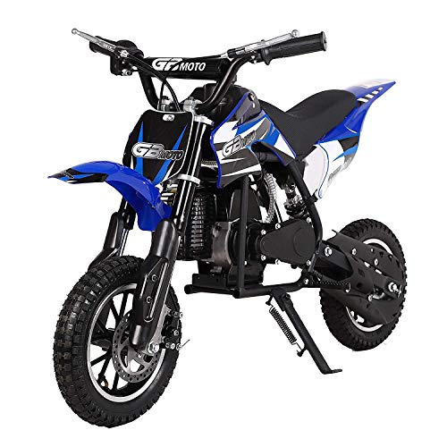 V-Fire 2-Stroke 49cc Dirt Bike Mini Gas Motorcycle Kids Motorcycle Childrens...