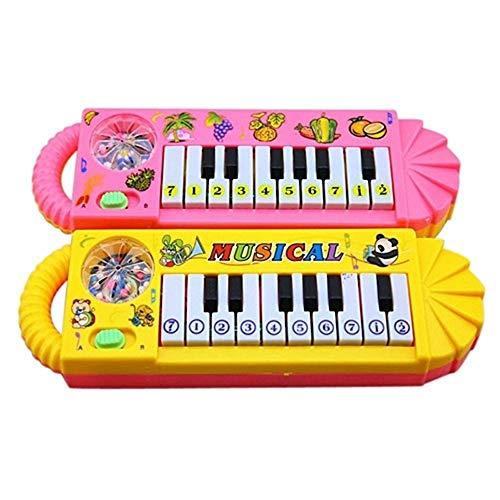 Baby Kinder Musikalische Klavier Frühen Lernspiel Instrument Developmental Spielzeug, Mein Erstes Spielzeug Instrument, das Klavier! Musikalische Früherziehung für Babys ab 6 Monate, zufällige Farbe