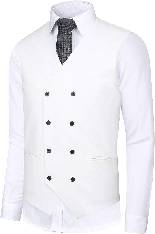 1930s Men's Clothing Hanayome Mens Gentleman Top Design Casual Waistcoat Business Suit Vest VS17  AT vintagedancer.com