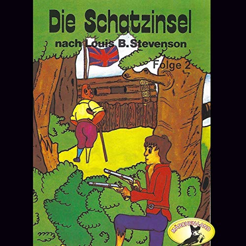 Die Schatzinsel 2 audiobook cover art