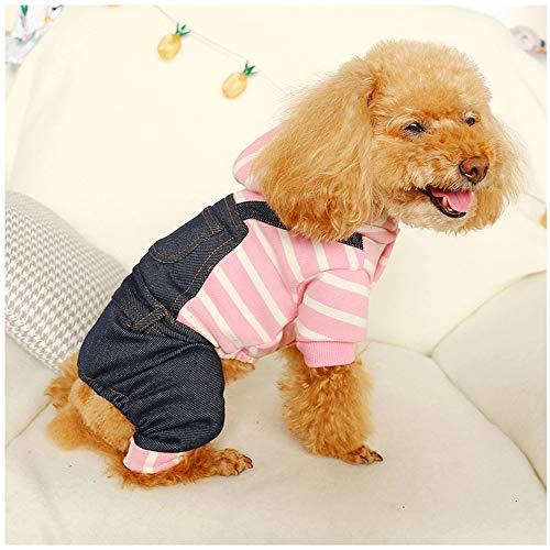 Leuke Kleine Hond Kleding Huisdier Hond Kleding Verdikking Warm Sweatshirt Honden Winter Sweater Bib Broek Puppy Huisdier Jas