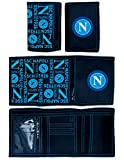 Portafoglio Napoli Originale Ufficiale a Strappo Velcro Borsellino Enzo Castellano PTFNA569