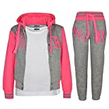 A2Z 4Kids - Tuta da baseball, logo NYC Fox, giacca con cappuccio e pantaloni sportivi, unisex, per...