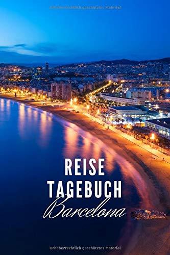 Reisetagebuch Barcelona: Reisetagebuch mit Packliste und Weltkarte für Städtetrips • Reise Journal für Städteliebhaber und Weltenbummler • 140 Seiten ... cm x 22,86 cm) • Erinnerungsbuch für Reisende