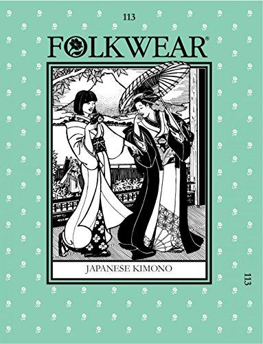 folkwear Mustern Damen & Herren Schnittmuster Japanische Kimono
