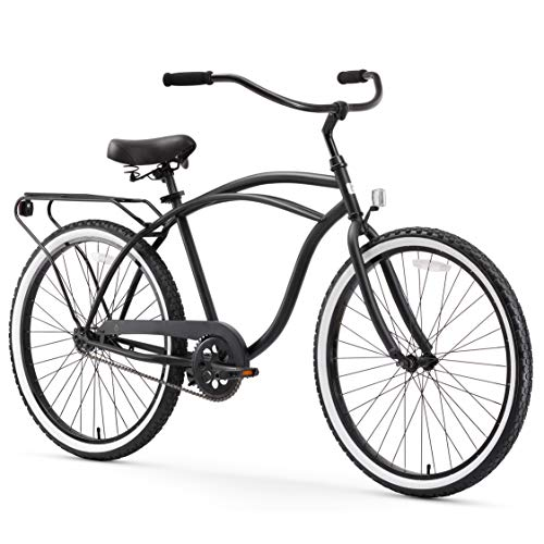 Around The Block Men's Single-Speed Beach Cruiser Bicycle