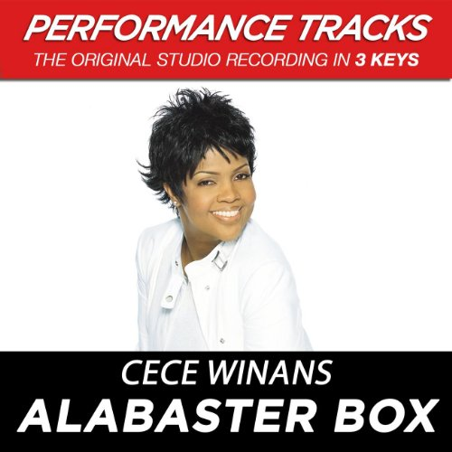 Alabaster Box (Performance Track In Key Of E-Gb)