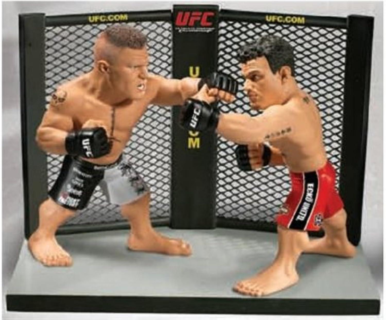 Round 5 UFC Versus Series 1 Action Figure 2Pack Brock Lesnar Vs. Frank Mir UFC 100