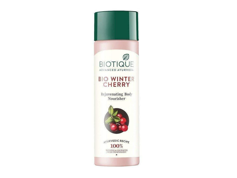 周辺アンペア申し立てBiotique Bio Wintercherry Lightening And Rejuvenating Body Nourisher, 190ml