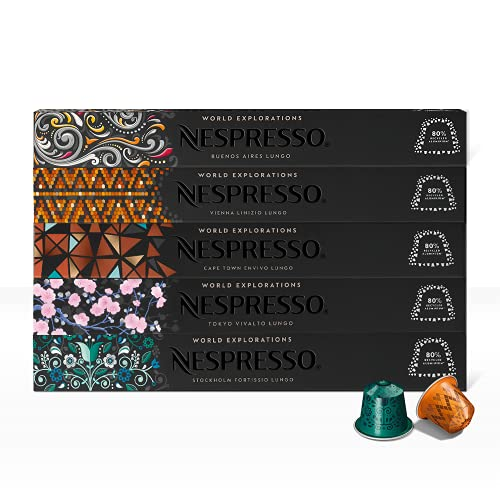Capsulas Nespresso marca Nespresso