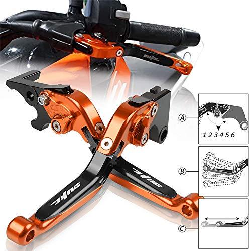 6 Stage Adjustment Aluminum Brake Clutch Lever Set For KTM DUKE 125 2011-2019 DUKE 200 2012-2020 DUKE 250 2013-2020 DUKE 390 2013-2020(OBOB)
