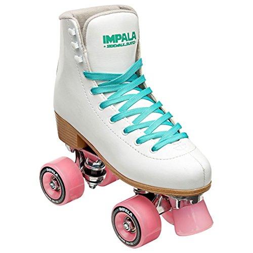 Impala Sidewalk Skates Rollerskates Quad White US 8