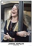 Janis Joplin/Laughing Poster Drucken (60,96 x 91,44 cm)