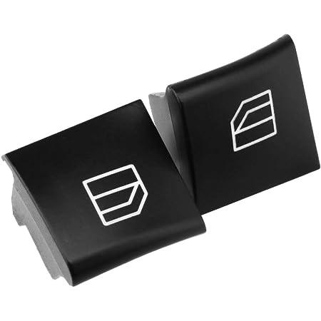 2x Vorne Links Rechts Fensterheber Schalter Taste Tasten Taster Fensterheberschalter Auto