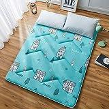 ZH Boden Tatami-Matte, Schlafmatratzenauflage Pad Folding Dicker, Futon-Matratze Kissen, Studentenwohnheim Schlafmatte (Color : G, Size : 0.9m Bed)