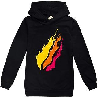 fashionaa PRESTONPLAYZ Children's Hoodie Sweatshirts Sport Suit Teenage Kids Preston Playz T Shirt Hoodies Tops Clothes Tr...