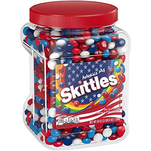 Skittles America Mix, 54 oz - 1 Tub